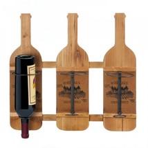 Bordeaux Wooden Wine Bottle Holder - $1.116,40 MXN