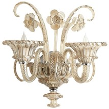 Wall Sconce CYAN DESIGN LASCALA Murano Italian 2-Light - $1,162.50