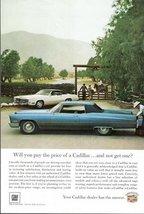 1966 Cadillac Motoring Satisfaction marketing print ad - $10.00