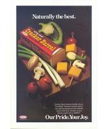 1979 Kraft cracker barrel cheddar cheese print ad - $10.00