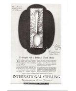 1926 International Sterling Trianon spoon print ad - $10.00