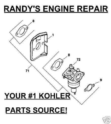 Oem Carburetor Kohler 12 853 93 Cv14 Cv12 5 and 50 similar items