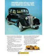 1971 Caterpillar Road Construction Machines print ad - $10.00