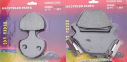 Disc Brake Pads for the Harley FXST 1985-1999 Front & Rear (2 sets)