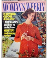 Woman's Weekly Magazine, February 19 1972 Lampshades Knitting - $8.50