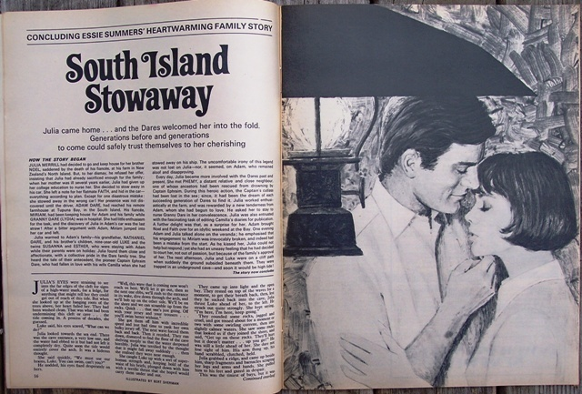 Woman's Weekly Magazine, February 19 1972 Lampshades Knitting