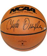 Clyde Drexler signed Wilson NCAA Indoor/Outdoor Basketball- Steiner Holo... - $119.95
