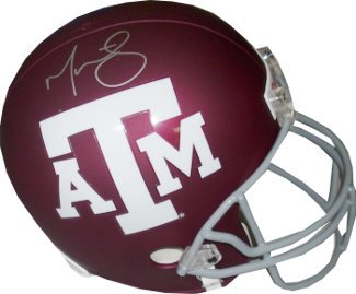 Primary image for Martellus Bennett signed Texas A&M Aggies Full Size Replica Helmet