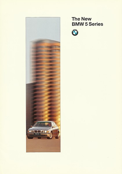 1996/1997 BMW 5-SERIES Sedan brochure catalog 97 528i 540i