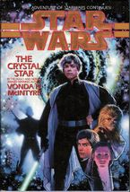Star Wars The Crystal Star by Vonda N McIntyre 1st ed DJ HC 1994 - $6.95