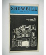 Light Opera Manhattan Showbill 1981 Eastside Playhouse Student Prince Pr... - $19.79