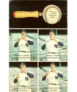 1962 john sain baseball postcard spinner teaching device yankees rare - $129.00
