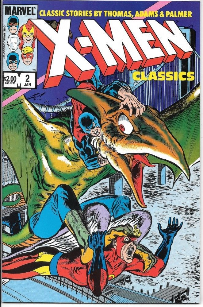Primary image for X-Men Classics Comic Book #2 Marvel Comics 1984 VERY FINE- NEW UNREAD