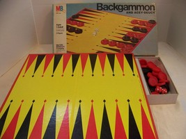 Backgammon and Acey-Deucy Board Game by MB - $9.99