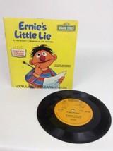 Vintage 1983 Fisher-Price Sesame Street Ernie's Little Lie 33 RPM Book &... - $9.85