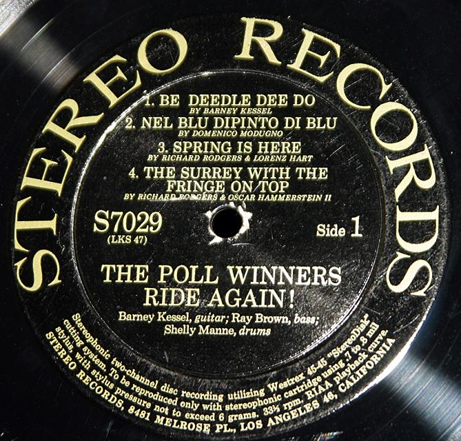 The Poll Winners Ride Again   LP