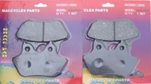 Disc Brake Pads for the Harley FLHT/C/Ci/Cui/i 2005-2007 Front (2 sets)