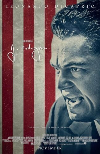 J. Edgar Version A Double Sided Orignal Movie Poster 27x40