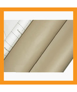 beige adhesive faux leather upholstery vinyl fabric auto car seat interi... - $23.50