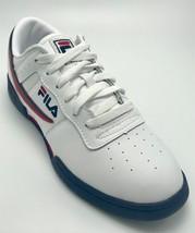 Men's Fila White Signature Fashion Sneakers  - $69.00
