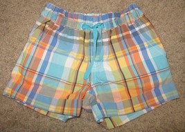 EUC Gymboree Tropical Bloom Plaid Shorts Size 4 - $3.99