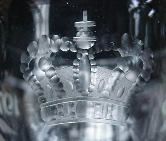 Holmegaard 1776-1976 Bicentennial Crystal Independence Cup