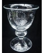 Holmegaard 1776-1976 Bicentennial Crystal Independence Cup - $40.00
