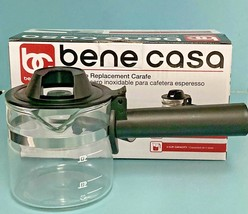 Bene Casa Espresso Replacement Carafe 4 Cup Capacity - Free Shipping! - $14.36