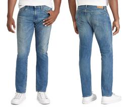 Polo Ralph Lauren Varick Slim Straight Jean in Blue MSRP $125 33X32 - $74.24