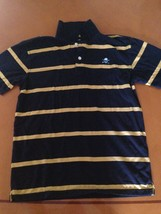 Gap Kids GapKids Blue Yellow Striped Polo Shirt Shirts Size XXL (14-16) - $9.89