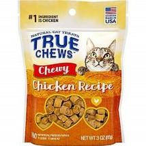 TRUE CHEWS CHICKEN RECIPE CHEWY CAT TREATS CAT TREATS 3 oz - $11.75