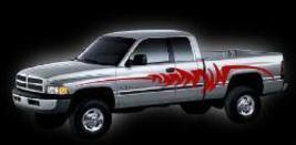 Truck Kit #1 Decal Graphic Truck Semi Suv Cool Vehicle - $88.00