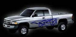 TRUCK KIT #7 DECAL FLAMES TRUCK SEMI SUV COOL VEHICLE