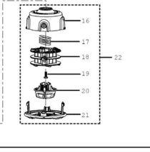 trimmer Reel head Ryobi, Craftsman 120950010 part - $35.99
