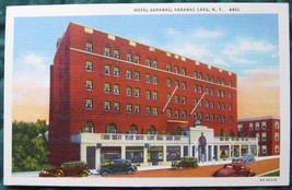 Curteich, White border, Art-Colortone, linen post card Hotel - $6.00