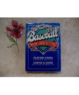 MLB Baseball Playing Cards 1990 Premier Edition Deck Vintage Souvenir Co... - $9.95