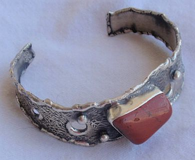 Blood stone bangle BAU