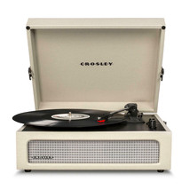 NEW Crosley CR8017A-DU 3 Speed Voyager Portable Record Player Turntable - Dune - $98.95