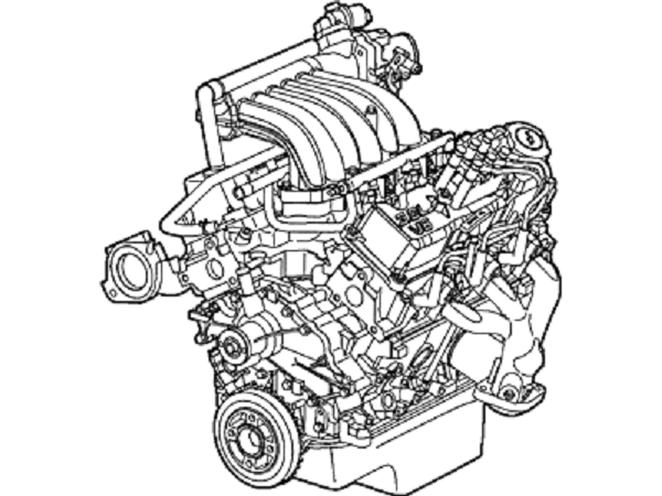 Ford Engine 4f1z 6007 Da Taurus 3 0l Dohc And 50 Similar Items