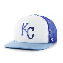 NEW '47 MLB Kansas City Royals Women's Glimmer Captain Adjustable Snapba... - $19.86