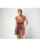 Hayden Harnett Silk Bibliotheque Dress Medium New  Sunset - $99.00