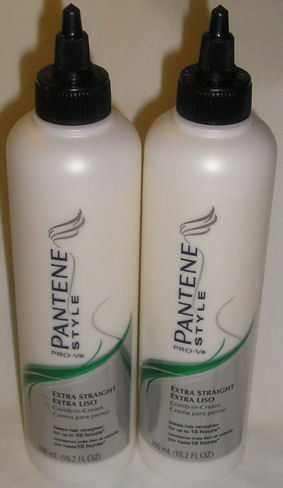 2 Pantene Pro V Style Extra Straight Comb In Hair Cream