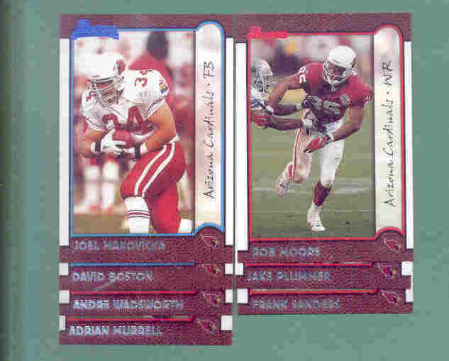 1999 Bowman Arizona Cardinals Football Set