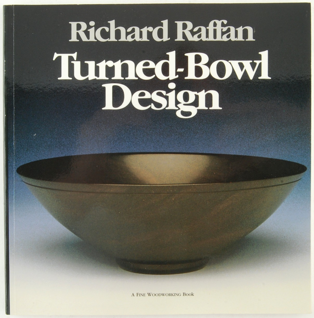 Book turned bowl design