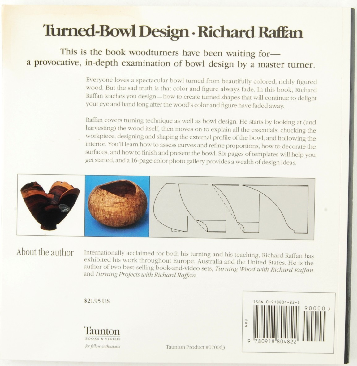 Turned-Bowl Design Richard Raffan Woodworking Woodcraft Wood Wooden