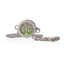 Aromatherapy Jewellery Chain Bracelet - Tree of Life - 20mm - $34.28