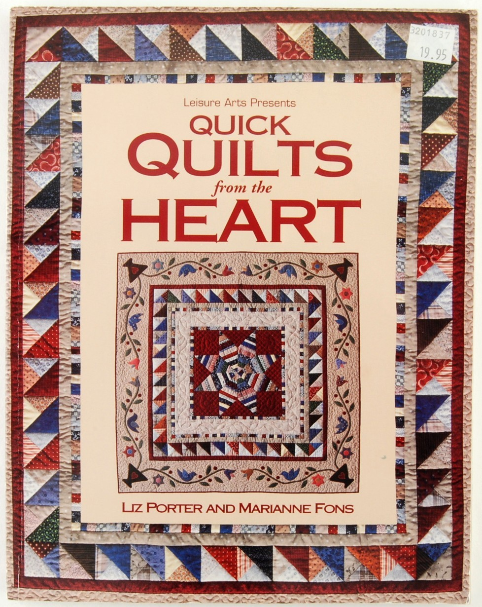 Book quilts from the heart