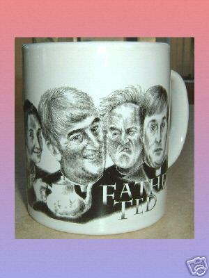 FATHER TED CERAMIC MUG Ireland IRISH HUMOUR British Television Comedy