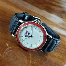 New Old Stock 1980's Vintage Mens PEPSI Cola Advertising Watch Pepsi Dia... - $39.95