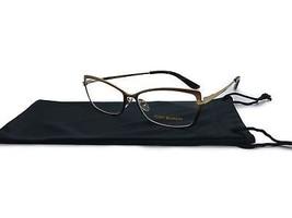 Tory Burch Gold Bronze Cat Deco Eyeglass Frame TY 1035 484 53-14-135 - $68.44